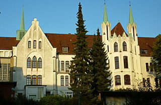 Bethel Foundation Psychiatric hospital in Bielefeld, Germany