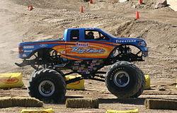 2005 Bigfoot monster truck racing in Arizona