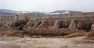 Bijela Tabija - Interior view of the castle ruins of Bijela Tabija