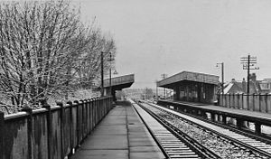 Bingham Road railway station - Image: Bingham Road Station