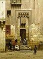 Binnenplaats van een huis te Caïro Rijksmuseum SK-A-1184.jpeg