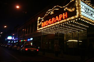 theater and former movie theater in Chicago, Illinois, United States