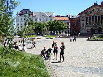 Midtbyen, Aarhus - Image: Bispetorv (Aarhus) 01