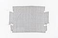 Blåvitrandigt möbelöverdrag i linnelärft - Skoklosters slott - 96752.tif