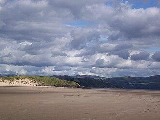 Morfa Bychan - Image: Black Rock Sands