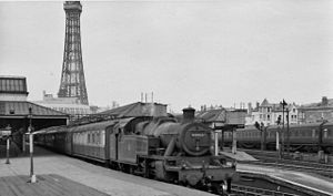 Blackpool Central railway station - Image: Blackpool central railway station 1818598 f 45c 256b