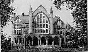 Grinnell College - Blair Hall: Constructed between 1882 and 1886 and razed in 1961.