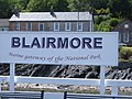 Blairmore Pier Sign - geograph.org.uk - 864848.jpg