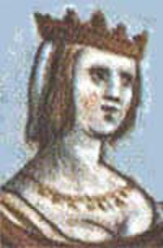 Countess of Champagne - Image: Blanca of Navarra (1177 1229)