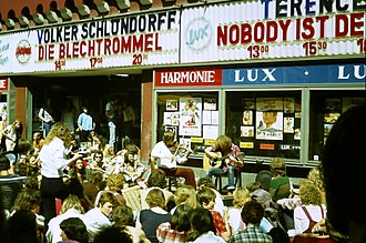 The Tin Drum (film) - The Tin Drum cinema showing, Heidelberg 1979
