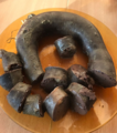 Blood sausage made in Buryatia, Russia.png
