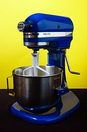 A KitchenAid K5 Planetary food mixer