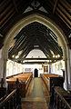 Bobbingworth, Essex, England - St Germain's Church interior - nave from chancel.JPG
