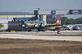 Boeing B-17G-85-DL Flying Fortress Nine-O-Nine Landing Taxi 02 CFatKAM 09Feb2011 (14983923925).jpg