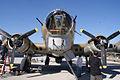 Boeing B-17G-85-DL Flying Fortress Nine-O-Nine Nose Guns CFatKAM 09Feb2011 (14983859705).jpg