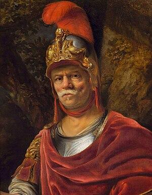 Ferdinand Bol - Image: Bol Man in golden helmet