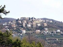 Panorama del borgo di Bolano