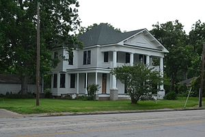 National Register of Historic Places listings in Wharton County, Texas - Image: Bolton Outlar House, Wharton, TX