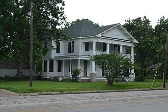 National Register of Historic Places listings in Wharton County, Texas - Image: Bolton Outlar House, Wharton, TX