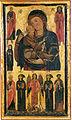 Bonaventura berlinghieri, madonna col Bambino e santi, uffizi.jpg