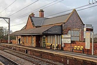 Newton-le-Willows railway station - Newton-le-Willows railway station
