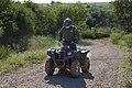 Border Patrol Agent Patrols South Texas Border on an All Terrain Vehicle (ATV) (11934552436).jpg
