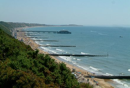 Bournemouth Beach and Boscombe Pier Bournemouth 02.JPG