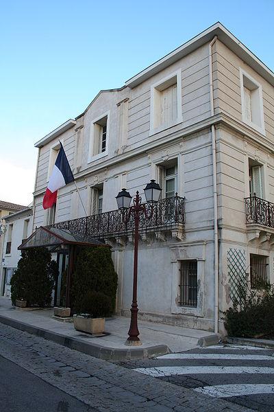 Bouzigues (Hérault) - mairie.