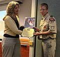 Boy Scouts receive awards for care packages DVIDS485507.jpg