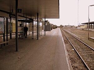 Brønderslev station - Brønderslev station in 2009