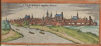 Straubing - Straubing in the 16th century