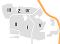 Braunschweig Weststadt, Nachbarschaften.png