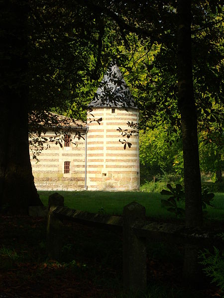 Castle of Braux-Sainte-Cohière (Marne, France), tower