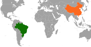 Brazil–China relations Diplomatic relations between the Federative Republic of Brazil and the Peoples Republic of China