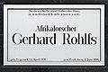Bremen Vegesack Gerhard Rohlfs-Straße 58 Plaque.jpg