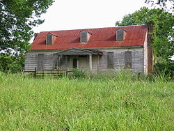 Bride's Hill, Lawrence County, AL.JPG