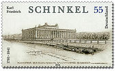 A stamp with Schinkel's Altes Museum (Source: Wikimedia)