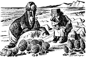 Bernard Levin - Lewis Carroll's the Walrus and the Carpenter (1871), borrowed by Levin as nicknames for Harold Macmillan and Harold Wilson