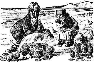 The Walrus and the Carpenter poem by Lewis Carroll