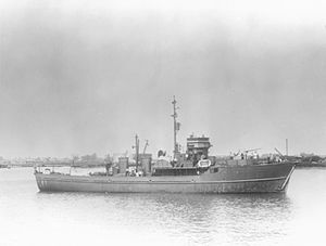 BYMS-class minesweeper - Image: British Yard Minesweeper 2030 FL7325