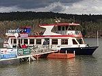 Brno, přehrada, U Kotvy, loď Stuttgart (02).jpg