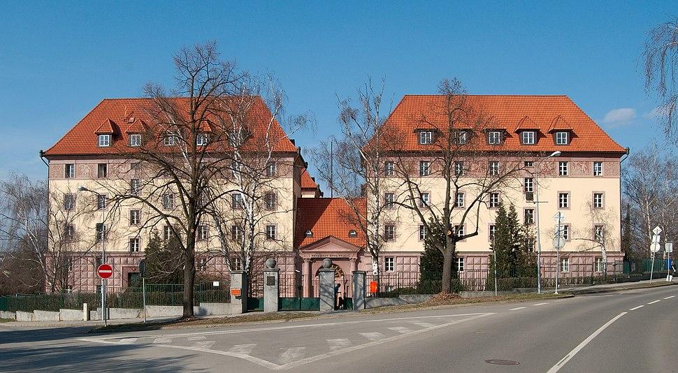 Brno-Žabovřesky - Kaunicovy koleje, výřez
