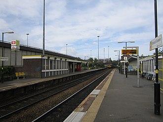 Broad Green railway station - Image: Broad Green railway station (1)