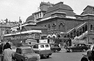 Broad Street railway station (London) - Broad Street railway station in 1961