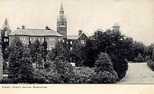 Brookwood asylum, where John M. Gillington was chaplain