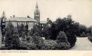 Brookwood Hospital - Brookwood Hospital in 1900