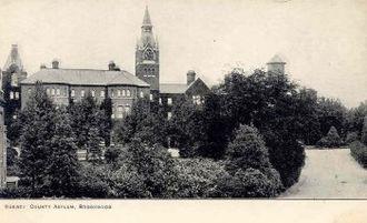 Brookwood Hospital - Brookwood Hospital in 1900