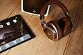 Brown headphones iPad (Unsplash).jpg