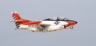 North American T-2 Buckeye - A civilian-operated T-2B Buckeye painted in United States Navy colors