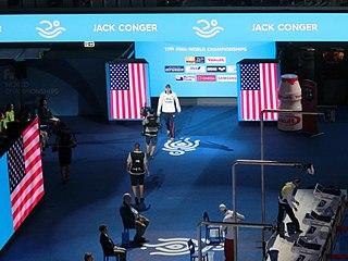 Jack Conger American swimmer